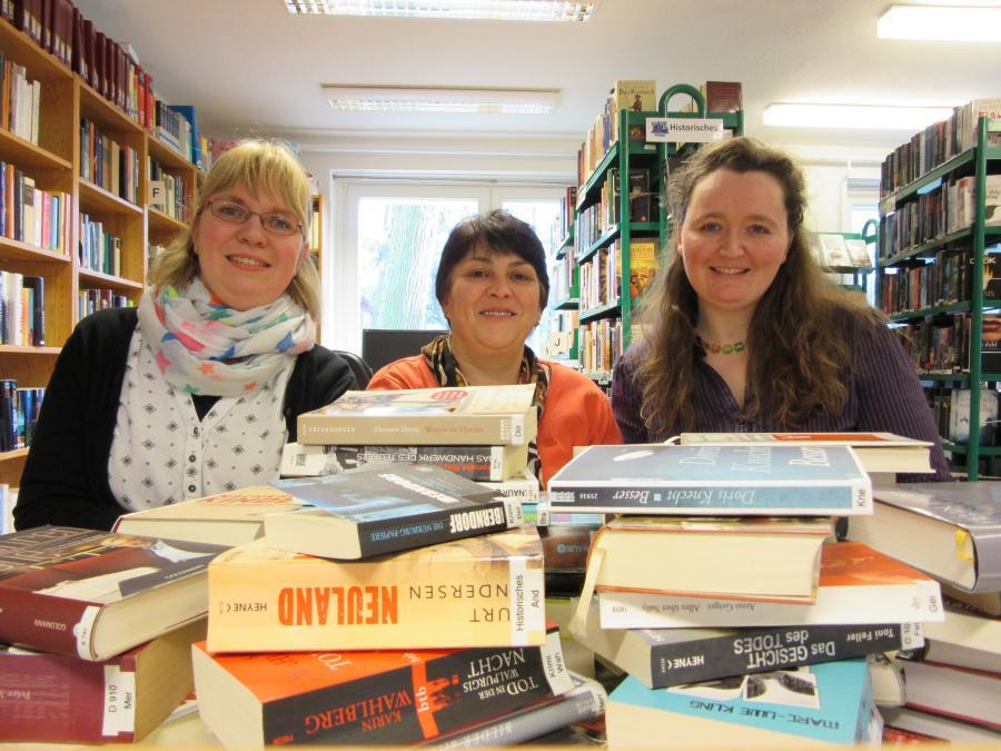 Dipl.-Bibl. Katja Porschel, Regina Steinert, Sandra Butte M.A. (Leitung)