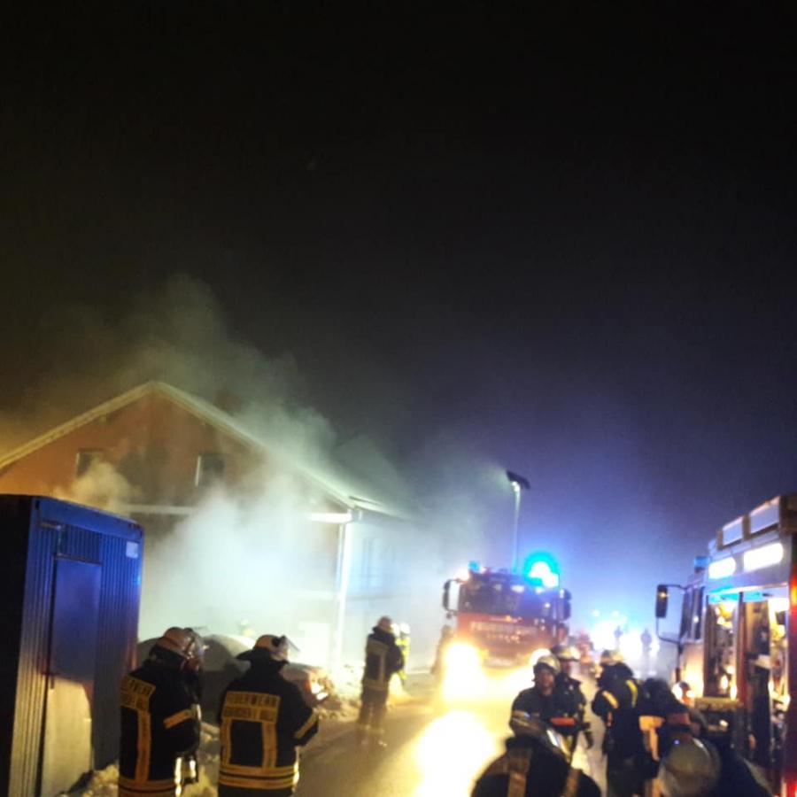 07.01.2019 Kellerbrand in Büchl