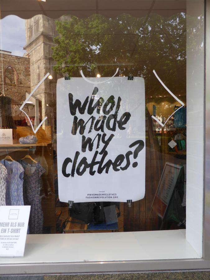 Who made my clothes? II