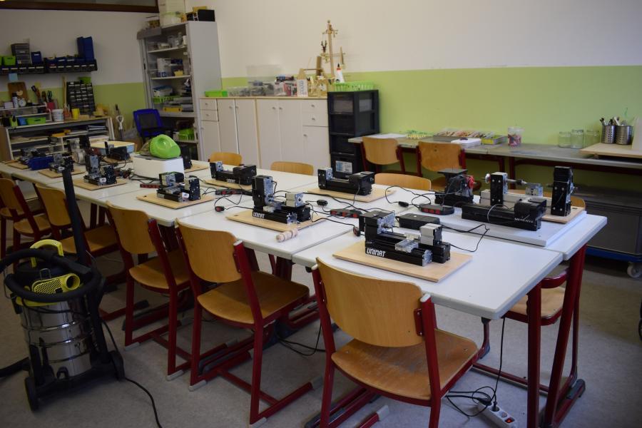 Schülerforschungszentrum MINT-Campus Holzwerkstatt