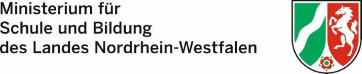 Ministerium für Schule und Bildung des Landes Nordrhein-Westfalen - Logo