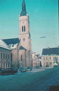 Frauenkirche 1954