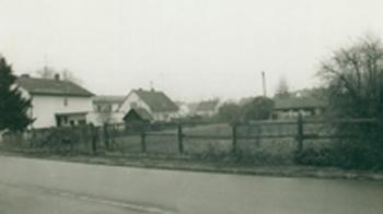 Grundstück Pfarrheim 1984