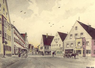 Marktplatz 1927