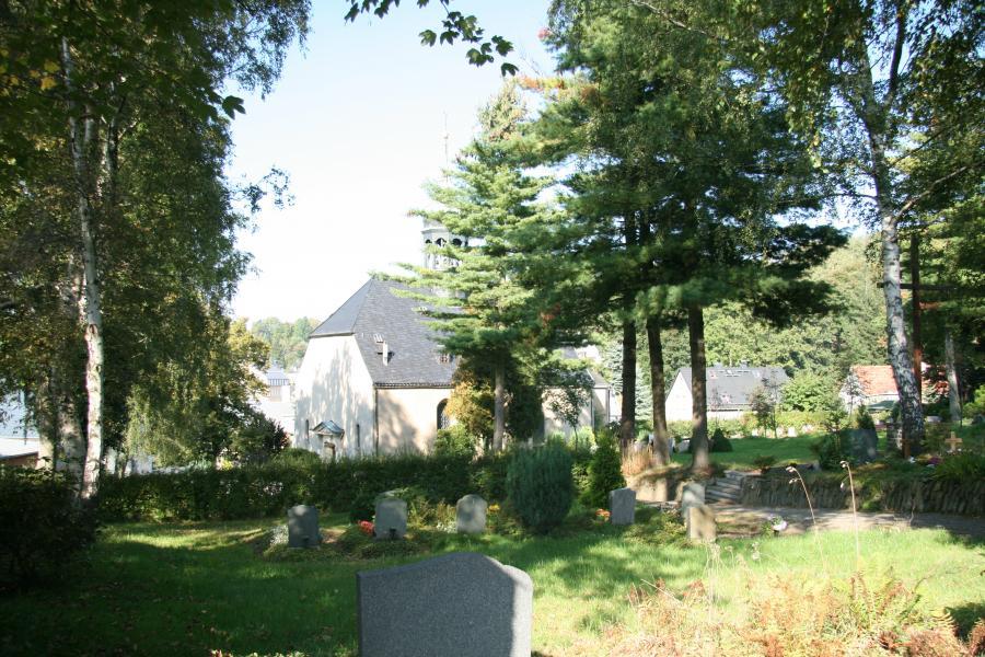 K - Blick über den Friedhof