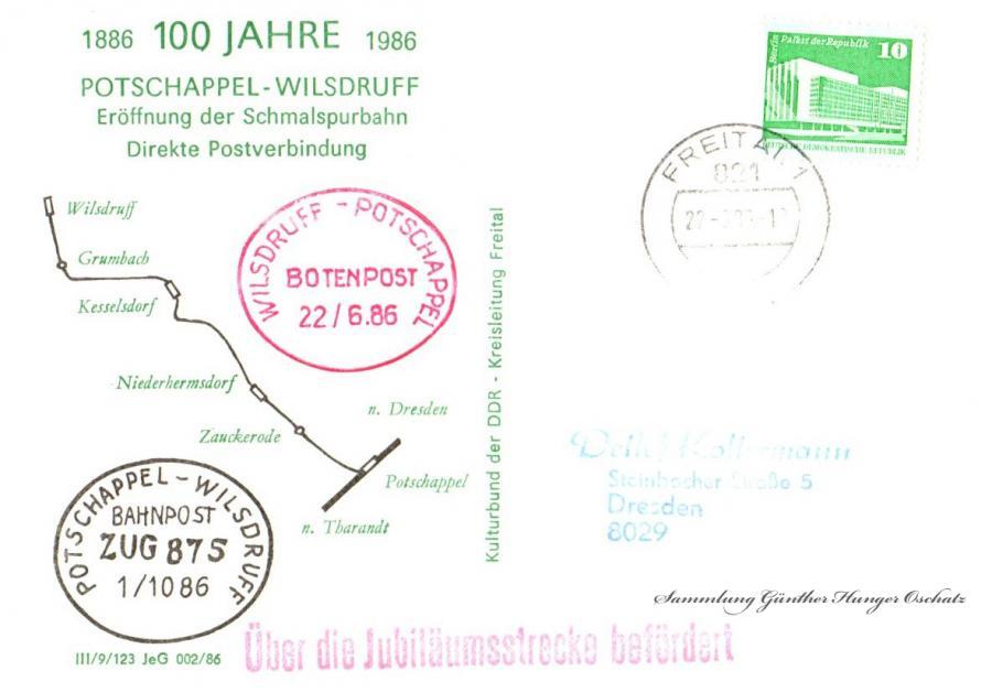 100 Jahre Potschappel-Wilsdruff