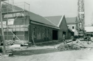 Grundstück Pfarrheim 1986