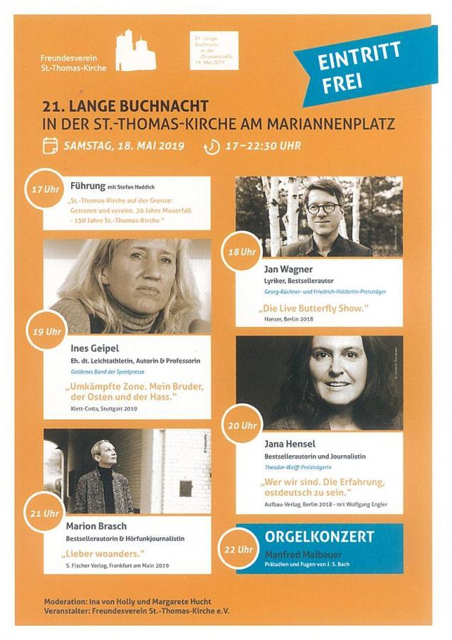 Lange Buchnacht 2019