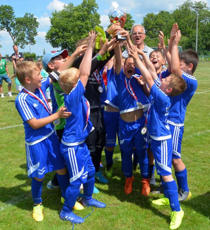 Pokalendrunde der F-Junioren