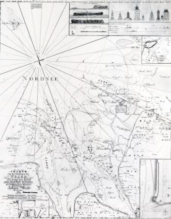 Karte Nordsee