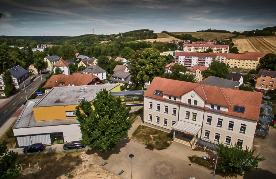 Grundschule Weißenborn... von oben