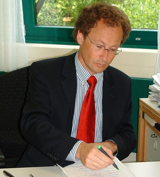 Der neue Schulleiter: Herr Martin