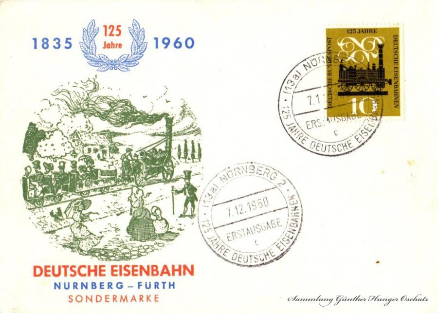 Deutsche Eisenbahn  Nürnberg-Fürth