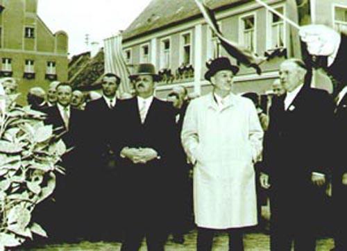 Landrat Pichl - Innenminister - 2.Bürgermeister Pichl                Högner            Geisreither