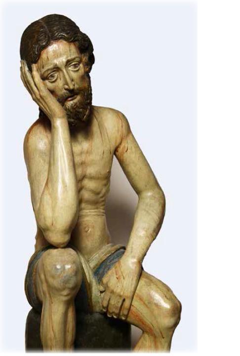 Christus in der Rast, wohl 17. Jh.