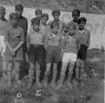 Schülermanschaft 1951