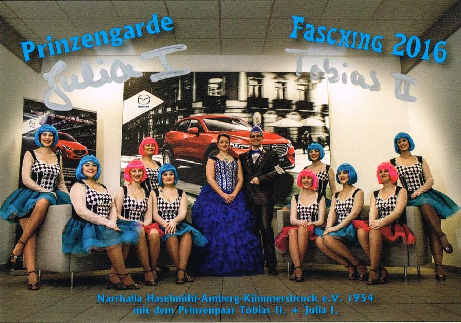 Prinzengarde 2016
