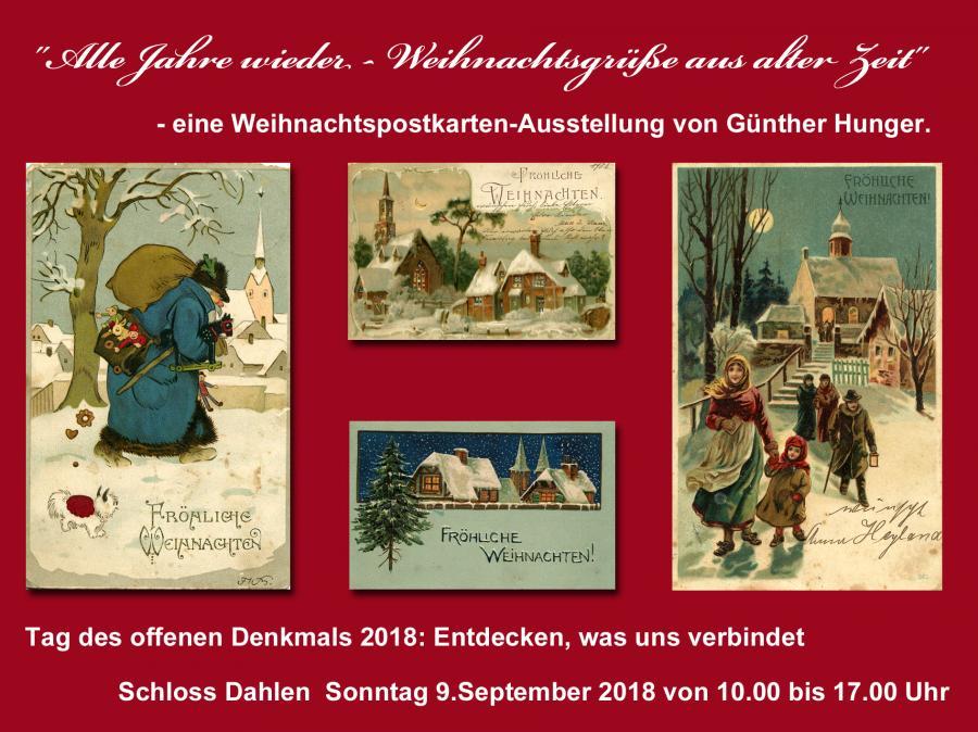 Ausstellung  Schloss Dahlen 2018