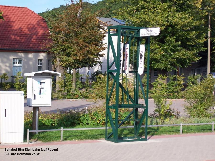 Bahnhof Binz Kleinbahn