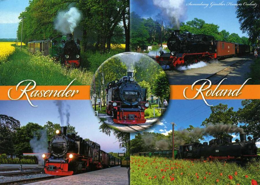Rasender Roland Schöne Grüße von der Insel Rügen