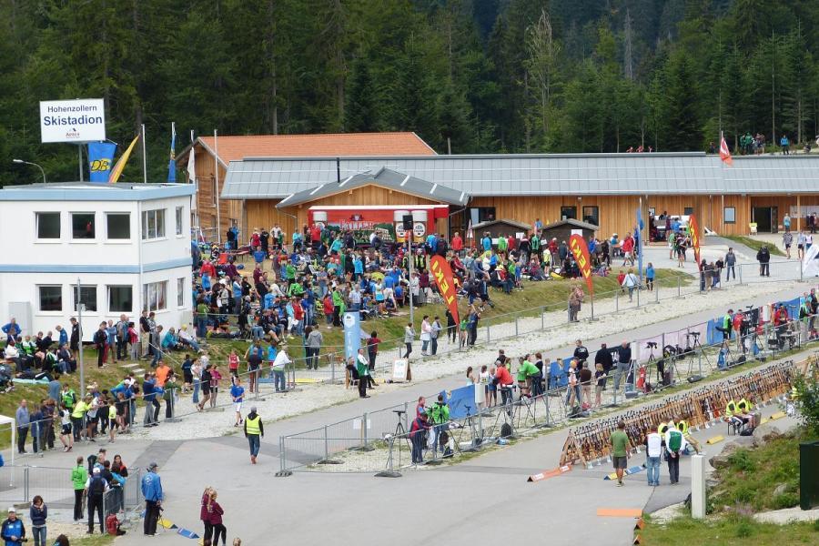 Sommerbiathlon im Hohenzollern Skistadion