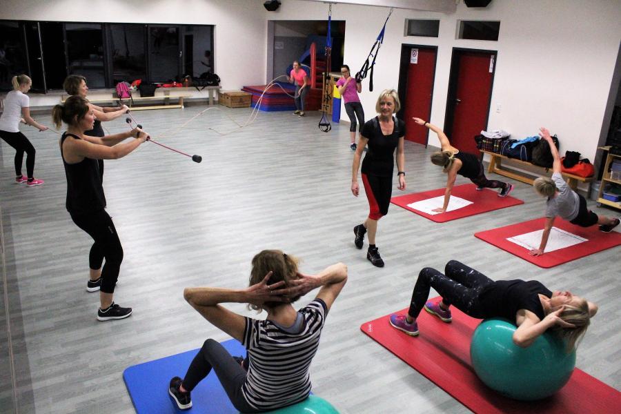 Rope Workout im Hintergrund