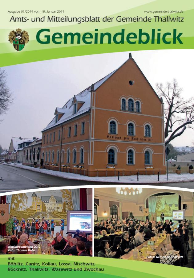 Gemeindeblick 01/2019