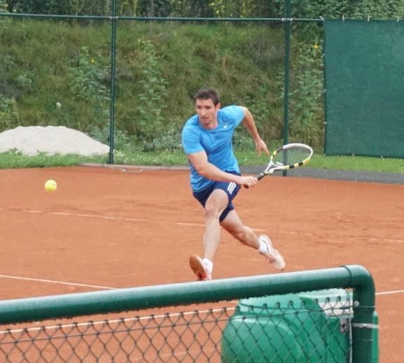 Robert Dicke, erstes Match in Potsdam