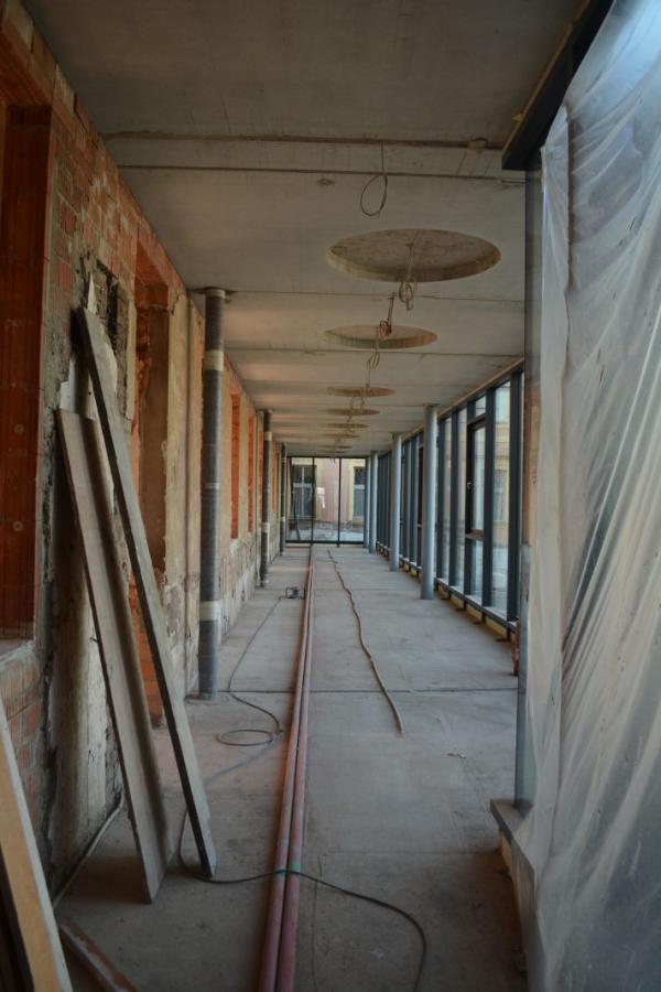 Das Foyer im OG Westflügel