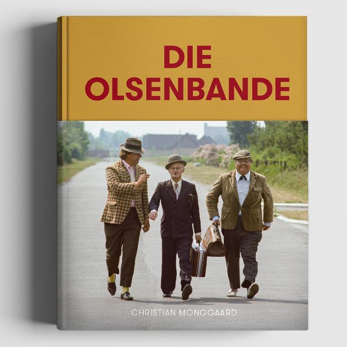 Buch_Die Olsenbande Foto- Olsenbandenfanclub