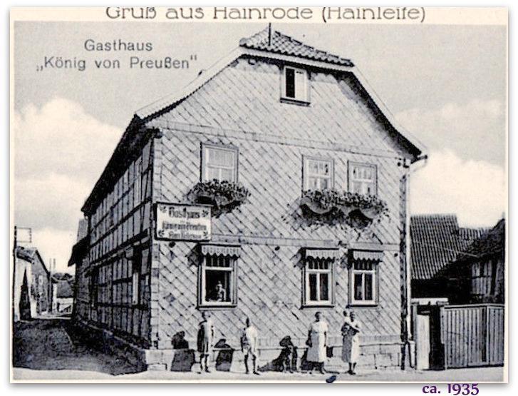 VH ganz früher ca 1935