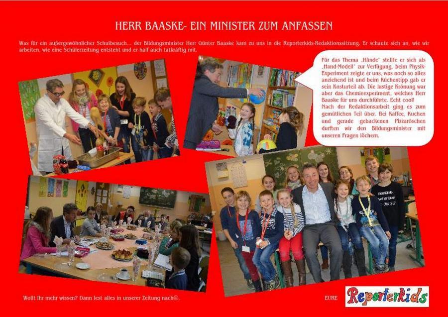 Besuch Minister Baaske