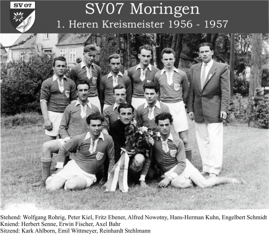 1. Herren 1956 - 1957