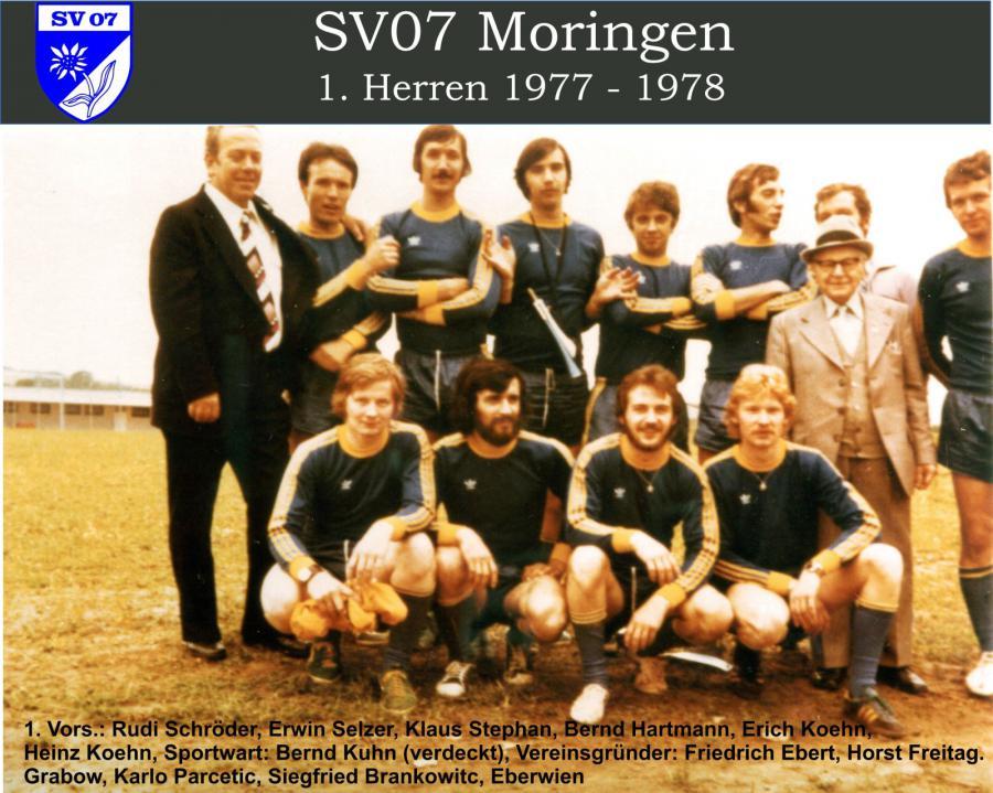 1. Herren 1977 - 1978