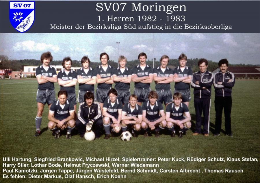 1. Herren 1982 - 1983