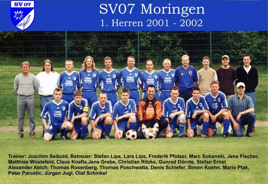 1. Herren 2001 - 2002