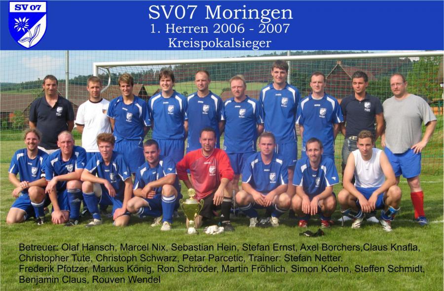 1. Herren 2006 - 2007