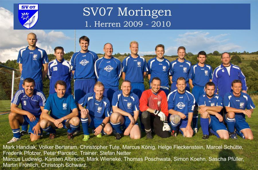 1. Herren 2009 - 2010