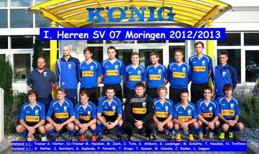 1. Herren 2012 - 2013