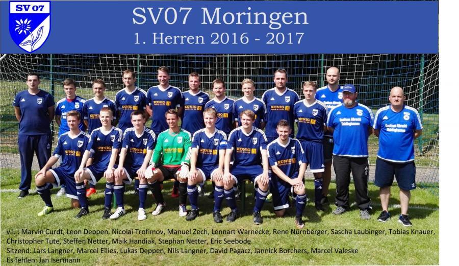 1. Herren 2016 - 2017
