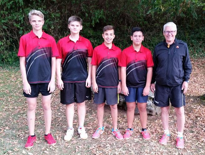 Erfolg 1. TT Jugendmannschaft