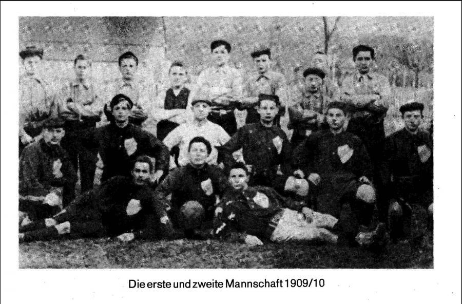 1. Herren 1909 - 1910