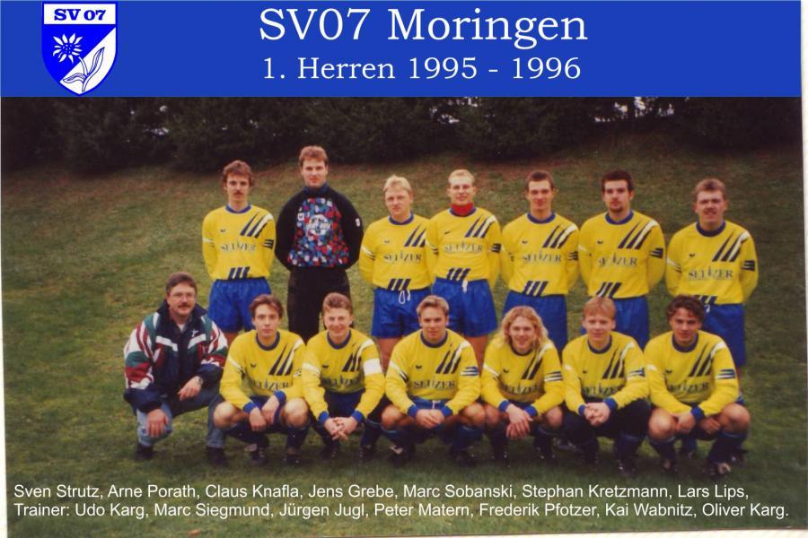 1. Herren 1995 - 1996