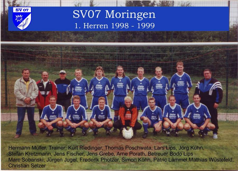 1. Herren 1998 - 1999