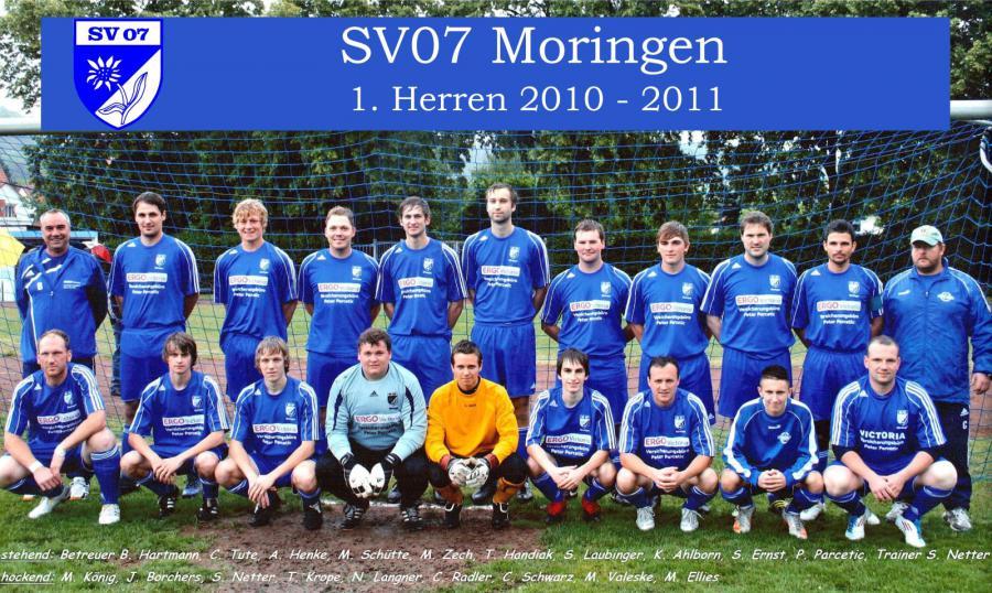1. Herren 2010 - 2011
