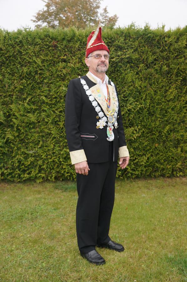 1. Vorsitzender Heino Kühl