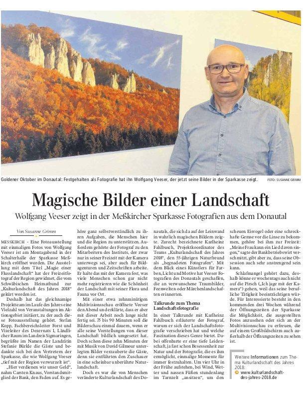 Schwäbische Zeitung 10. Oktober 2018