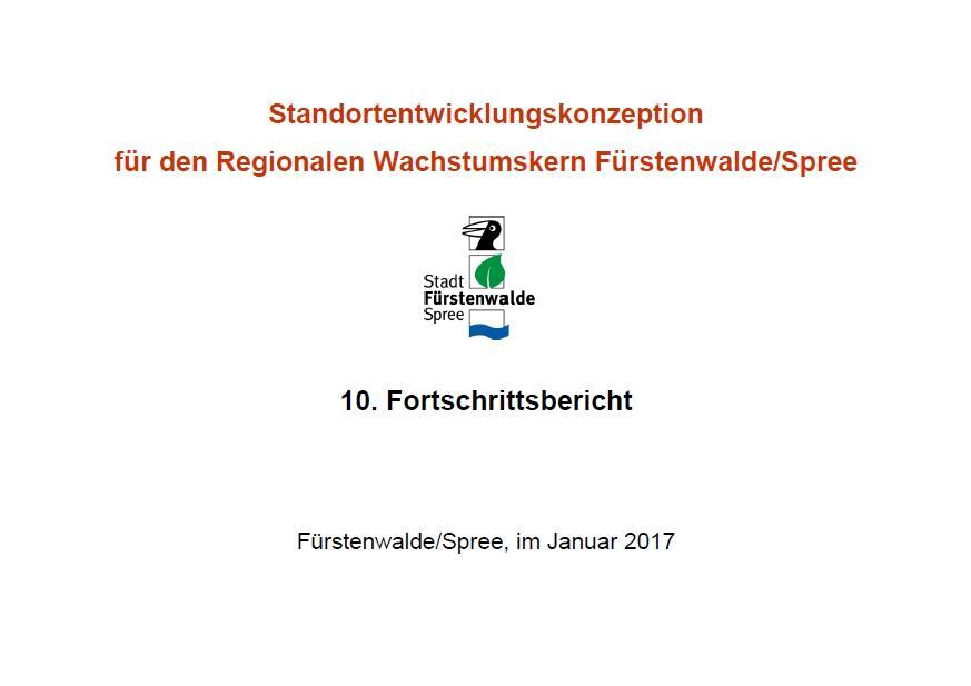 10. Fortschrittsbericht SEK Fürstenwalde 2017