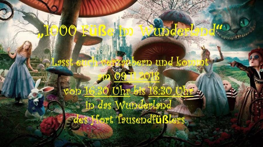 1000Füße im Wunderland