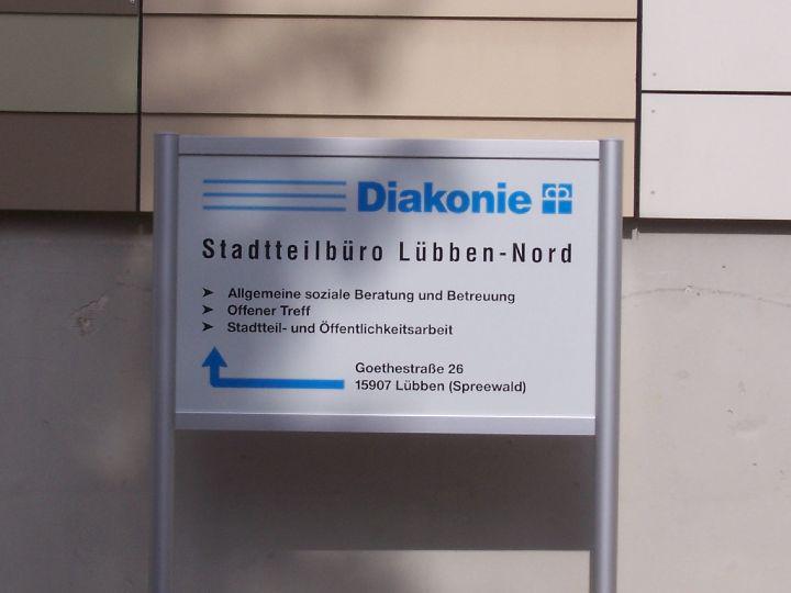 Stadteilbüro der Diakonie Lübben